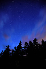 Acadia at Night (Emily Kistler) Tags: acadia acadianationalpark america atlantic d750 island maine nationalpark nature newengland nikon outdoors park trees usa unitedstates water night evening stars clouds silhouettes travel landscape sky