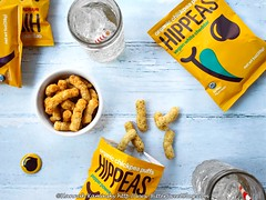 Hippeas (Bitter-Sweet-) Tags: vegan food snack review product salty savory healthy peas puffed crunchy snackable munchable hippeas highfiber protein singleserve packaging vegetarian glutenfree organic