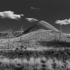 Smoke Signals (mickle229) Tags: paintedhills easternoregon oregon oregonexplored traveloregon monochrome hill barren desert
