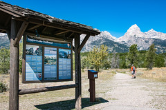 Taggart Lake Trailhead in Summer (GrandTetonNPS) Tags: unitedstates grandteton natio nationalpark