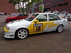 Opel Vectra A (911gt2rs) Tags: treffen meeting show event tuning tief stance tourenwagen motorsport racing stw vauxhall cavalier sedan dtm irmscher turbo 2000 4x4 spoiler weis white