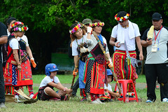 Ami Dress (Bob Hawley) Tags: nikond7100 nikon80200f28 asia kaohsiung taiwan zuoying aboriginalculture aborigines races festivals people ami women costumes traditional
