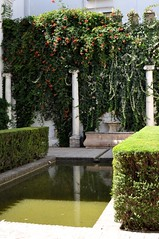 DSC_0325 (LisaRocaille) Tags: gardens gold sevilla spain decoration arabic moorish andalusia porcelain azulejos alcazares reales