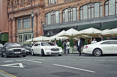 German-British-Arab-combo (KlausKniehase / KneeRabbit) Tags: london ghost rr rollsroyce coupe maybach 57s mansory xenatec