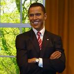 Au musée Madame Tussaud de Londres: Barack Obama