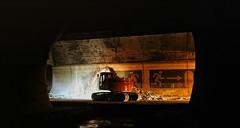 Pfndertunnel 1. Rhre (Gerald Ramsbacher) Tags: austria sterreich nikon sigma tunnel pfnder 1020 excavator bagger vorarlberg tunnelling a14 inthetunnel pfndertunnel d300s