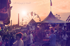 the last day of August (oneworldmj) Tags: carnival summer people fun fair games tent ferriswheel rides prizes crowds wehaveoneofthebiggestfairsinthecountry itsoneofmyfavoritepartsofsummer ilovethemidwaycarnivalrightbeforedarkittakesonsuchamagicalatmosphere