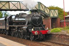 "Black 5 - 44932 (Steve Barowik) Tags: west train coast yorkshire railway steam locomotive cas ""black castleford d90 uksteam 5"" 44932 ""scots guardsman"" barowik stevebarowik sbofls26"