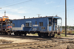 Conrail   Chicago     7-2-77 (LE_Irvin) Tags: chicago caboose cr