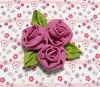 Caixa MDF Forrada Tecido (Darte Produtos Artesanais) Tags: caixa rosas mdf tecido forrada