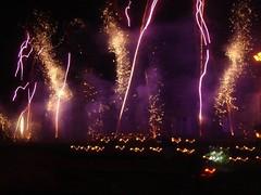 Fete de la Fleur fireworks at Chateau D Issan