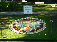 We Are Buzzzzzing (Stefan Peerboom) Tags: mosaic mosaics 2012 mozaïk fruitcorso mazaïken