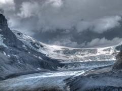 Athabasca Glacier HDR (fusionpanda) Tags: canada jasper alberta hdr icefieldsparkway athabascaglacier photomatix