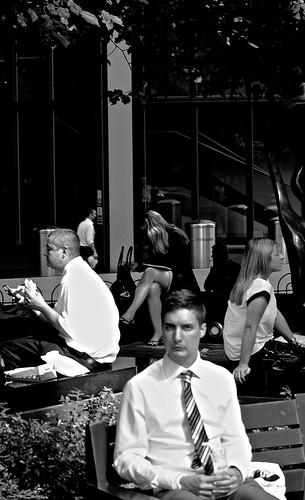Lunch, Canary Wharf