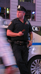 NYPD, Sept. '12 -- 1 (Bullneck) Tags: newyorkcity summer uniform gun cops police nypd timessquare americana newyorkstate heroes northeasternsector