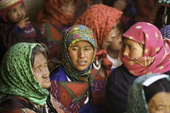 Women in Korzok. Ladakh.Jammu kashmir.India (courregesg) Tags: people india festival women traditional kashmir himalaya ladakh femmes jammu ethnology korzok etnnic