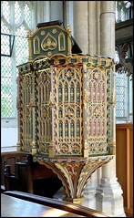 Pulpit, St. Edmunds, Southwold, Suffolk (Lincolnian (Brian)) Tags: uk england church suffolk abc southwold pulpit stedmunds