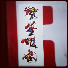 T-MONEY (billy craven) Tags: streetart chicago t graffiti sticker handstyles tmoney slaptag uploaded:by=instagram