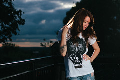 (JamieTakes.Photos) Tags: lighting portrait girl tattoos spadge strobist jazzybam
