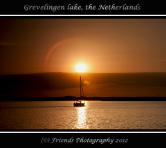 Saling home (on Explore 15-09-2012) (drbob97) Tags: light sunset orange sun lake holland home water netherlands clouds canon boot gold boat warm waves south sunny zeeland moment mussel zon sunnyday oranje zuid mossel saling zeilboot goud the 24105mm 40d zonondergang mygearandme mygearandmepremium drbob97 grevenlingen