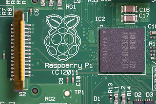 Raspberry Pi Closeup