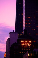 Tip Top Tap (michael.veltman) Tags: red chicago sign hotel neon top michigan tip tap avenue magnificent mile allerton