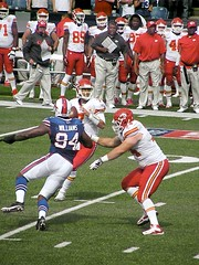 Buffalo Bills vs. Kansas City Chiefs 9.16.12 (MattBritt00) Tags: ny newyork sports football buffalo buffalobills bills stadium nfl quarterback kansascity chiefs afc americanfootball orchardpark footballstadium kansascitychiefs ralphwilsonstadium mattcassel nationalfootballleague mariowilliams americanfootballconference romeocrennel