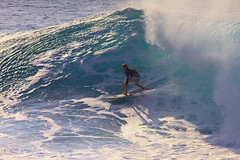 exit (bluewavechris) Tags: ocean sea sun water face fun hawaii surf ride action surfer tube barrel wave maui foam surfboard lip thebay swell honoluabay honolua