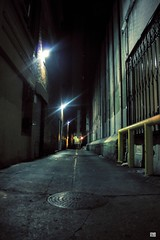 3am (demxx) Tags: morning building la los alley downtown angeles midnight alleys