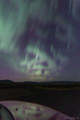 The Scary Face Of Aurora (Friðþjófur M.) Tags: mountain iceland scaryface ísland northernlights auroraborealis norðurljós canon50d mitsubishipajerosport tokina116 friðþjófurm