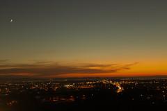 Night beginning on Tunis