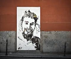 POESIA BAJO EL BLANCO CalleSanDimas. Madrid 2011