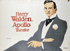 Harry Walden in Apollo Theater, Berlin (1909) (Susanlenox) Tags: berlin illustration vintage germany advertising poster glamour publicidad alemania actor plakat wintergarten apollotheater rodaroda binocle cartelrtol harrywalden stephankrotowski