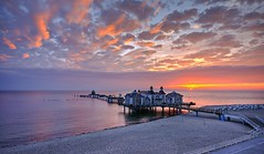 sunrise at the pier / Explore (matt.koerner1) Tags: sun clouds sunrise germany deutschland pier pentax wolken balticsea matthias sonne sonnenaufgang ostsee hdr k5 sellin mecklenburgvorpommern seebrcke krner sigma1020 mattkoerner1
