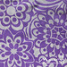#98 Vintage sheet - purple floral