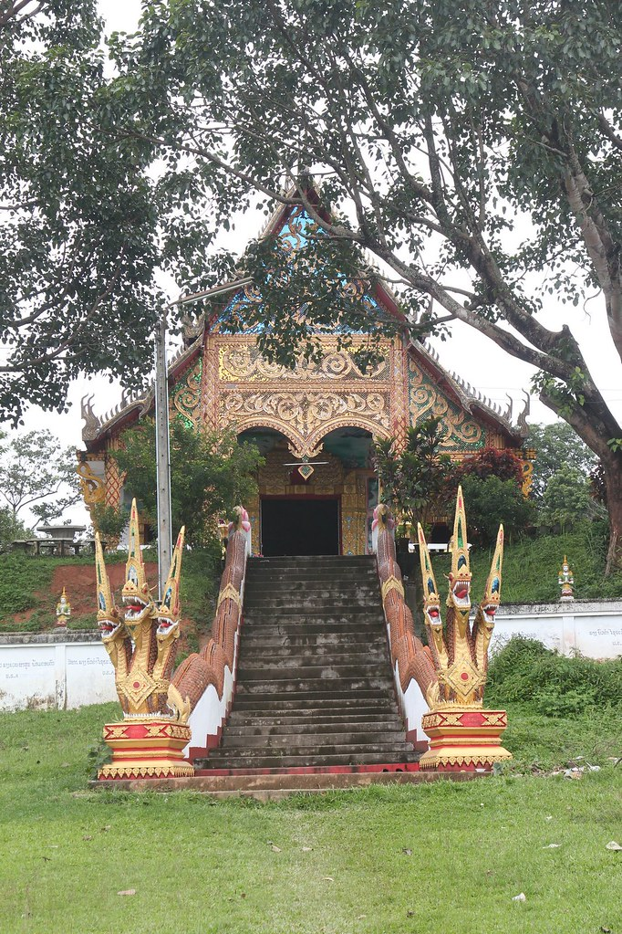 Small wat at Ban Mom, Northern Laos