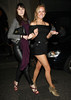 Kimberley Garner outside Mahiki nightclub London, England