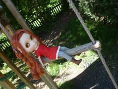 Ann in the park