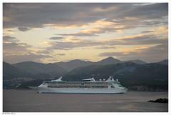 Evening Cruise (peterphotographic) Tags: morning sky boat early nikon europe ship croatia vessel cruiseship d200 dubrovnik adriaticsea dalmatia dsc0351edwm