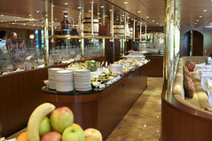 Dining Room Sw Sapphr (jjknitis) Tags: diningroom buffet scylla tauck rhinerivercruise swisssapphire