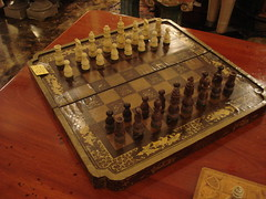 "Chinese games board with chess pieces. • <a style=""font-size:0.8em;"" href=""http://www.flickr.com/photos/51721355@N02/8059887954/"" target=""_blank"">View on Flickr</a>"