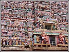 2516 - Chidambaram temple (chandrasekaran a 30 lakhs views Thanks to all) Tags: travel india heritage architecture culture traditions temples hinduism tamilnadu chidambaram saivism templeart lordsiva gopurams sabhas nayanmars
