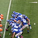 New York Giants in the victory formation