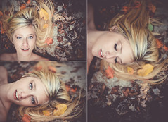 (darien maginn photography) Tags: portrait fall nature girl beautiful leaves fashion photoshop photography 50mm nikon colorful d600