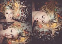 (darien maginn photography) Tags: portrait fall nature girl beautiful leaves fashion photoshop photography 50mm nikon colorful d600