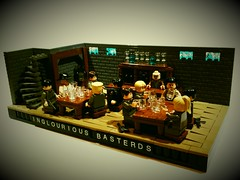 Inglourious Basterds (Project Azazel) Tags: bar google pub lego pa ww2 ba aldo wwll tarantino pubscene barscene googleimages brickarms legofilm thesecondworldwar inglouriousbasterds ww2lego bearjew ww2film projectazazel wwlllego filmscenesinlego inglouriousbasterdslego inglouriousbasterdsbarscene hugostiglets ww2films