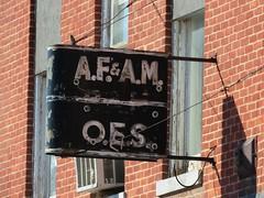 Friend-ly fraternals (jimsawthat) Tags: smalltown friend nebraska rust fraternal metalsigns neon vintagesigns