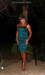 Emerald Evening (Miss Kellie Keene) Tags: beautiful brunette gold jewelry anklet bracelet necklace earrings toering silky smooth tan legs hanes beyondbare hosiery sexy strappy highheel sandals elegant emerald alexevenings cocktail dress lovely stylish classy transgender woman misskellie