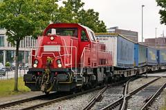 P2380182 (Lumixfan68) Tags: eisenbahn züge loks baureihe 261 voith gravita 10bb dieselloks rangierloks deutsche bahn db cargo güterzüge