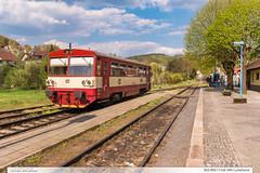 810.469-7 | tra 346 | Luhaovice (jirka.zapalka) Tags: luhacovice train trat346 os rada810 cd stanice